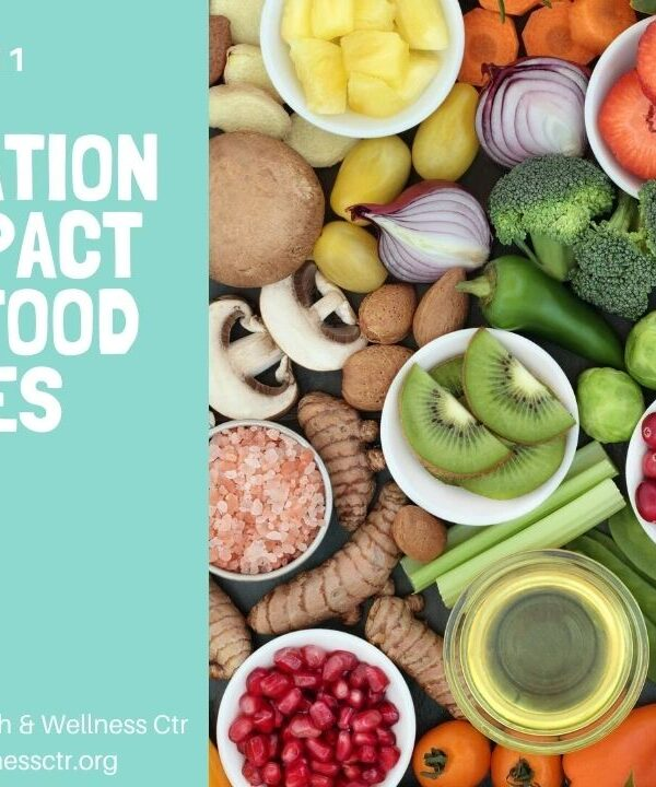 Inflammation and the Impact of Our Food Choices