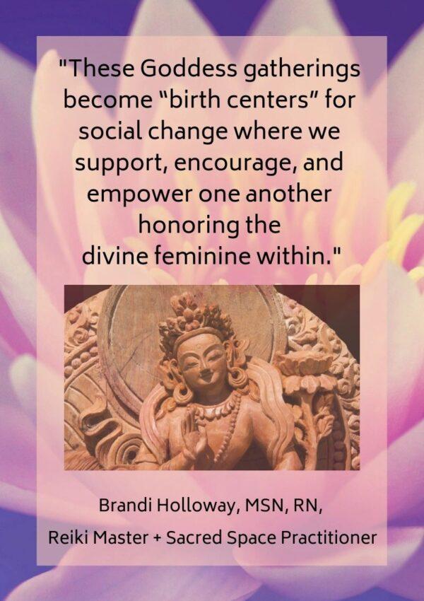 Finding Your Inner Goddess: Honoring the Divine Feminine