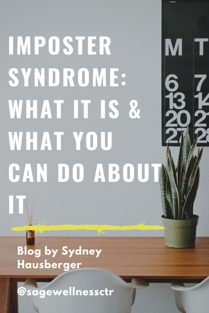Imposter Syndrome What it is and what you can do about it
